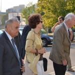 V. Sgurev (BG) and other guests arrive to ULSIT