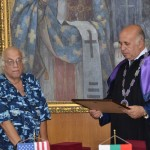 The Honorary Professor Ceremony for R. Yager (US)