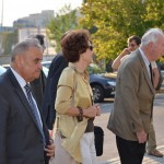 V. Sgurev (BG) and other guests arrive to ULSIT